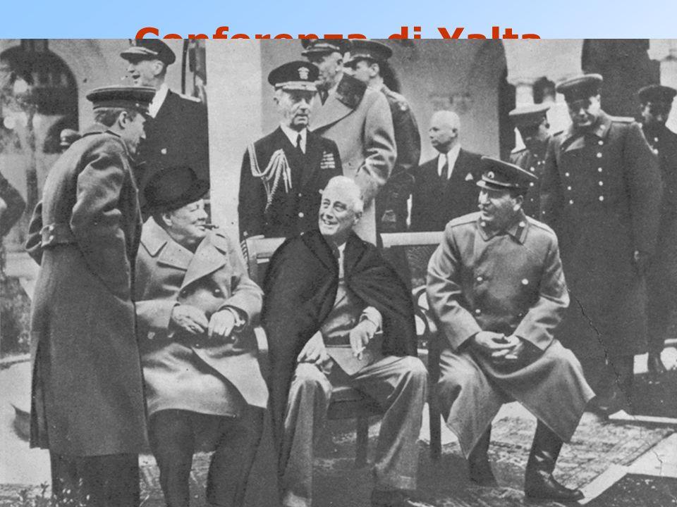 Conferenza di Yalta 4 - 11 febbraio 1945