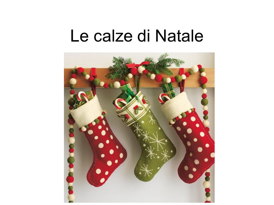 Le calze di Natale