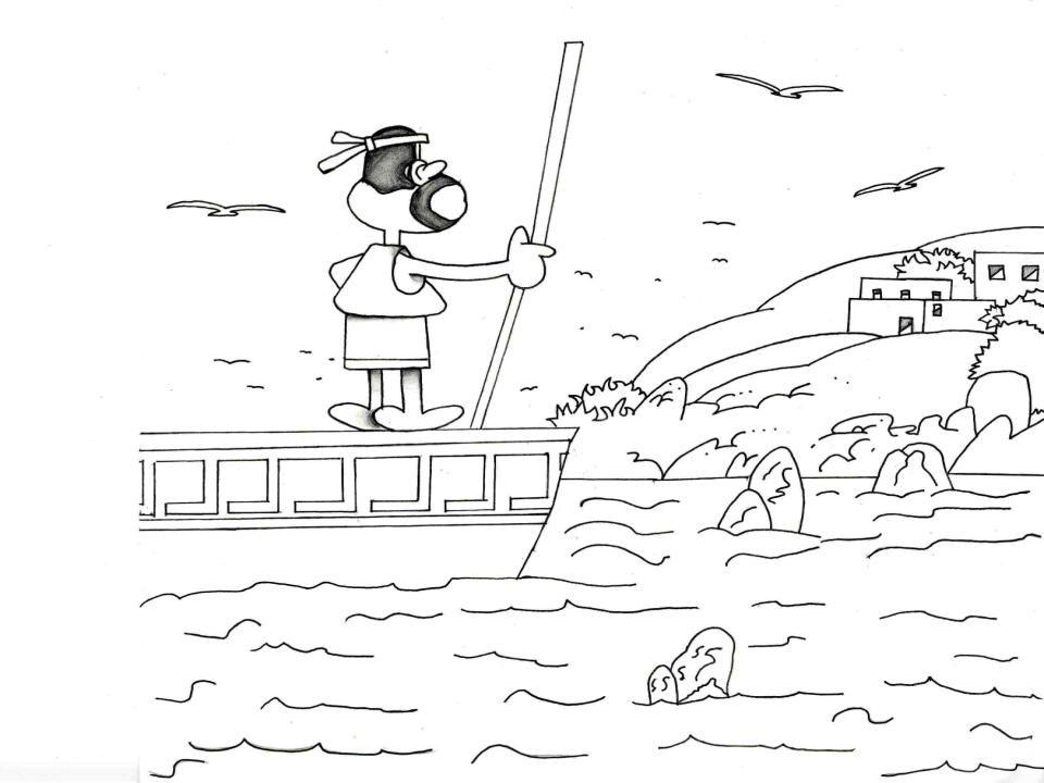 Enea sbarca sulle spiagge di Cuma e incontra una donna del luogo.