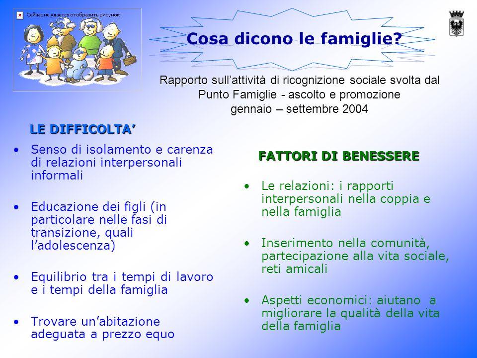 il valore sociale della famiglia 1.
