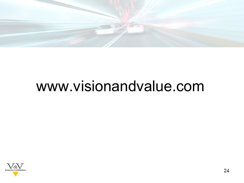 24 www.visionandvalue.com