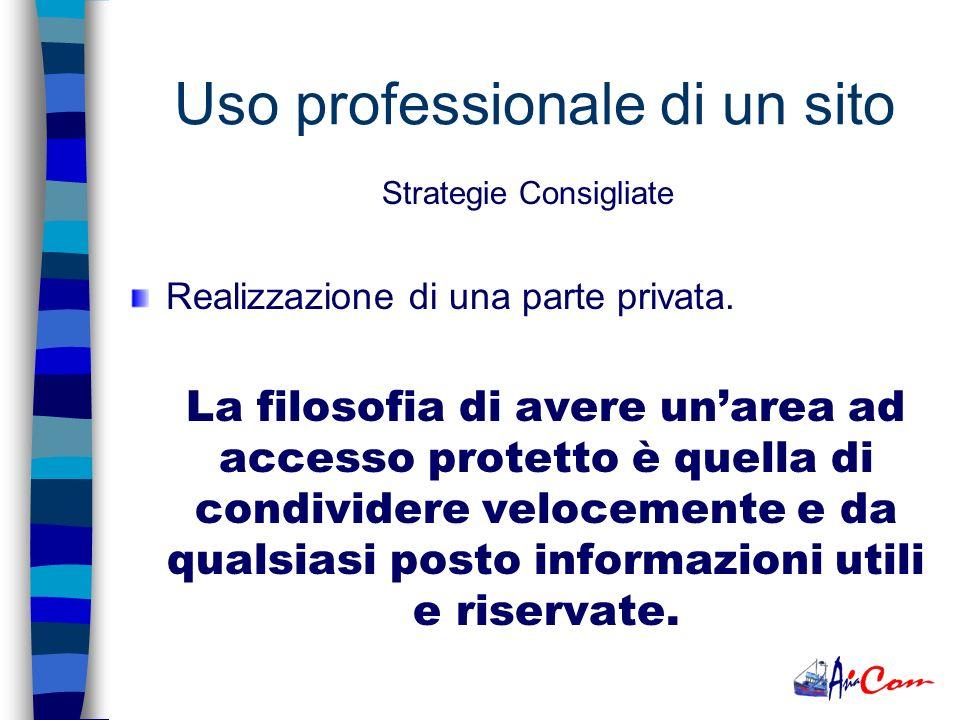 Sempre a disposizione del Cliente (in parte pubblica e privata). In qualsiasi momento il è possibile visualizzare le informazioni, senza la necessità