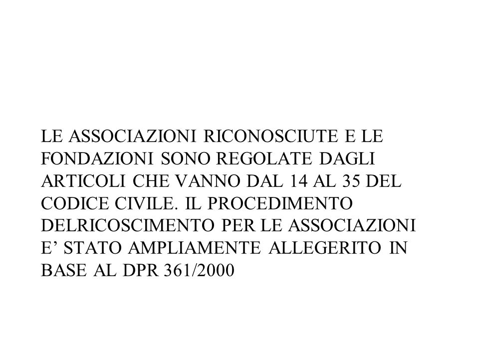 Per godere di tali norme agevolative la società deve integrare le clausole previste dal comma 18 dellart.