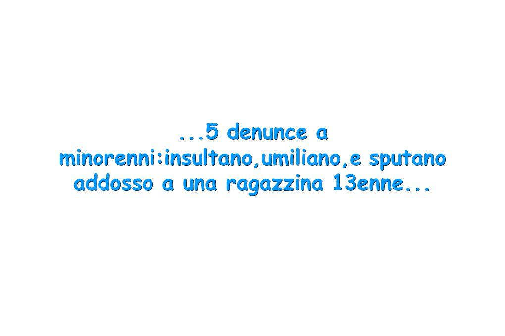 Secondo quanto comunicato dalla Questura di Rimini, sono cinque i casi di bullismo segnalati alla Polizia dal mese di febbraio.