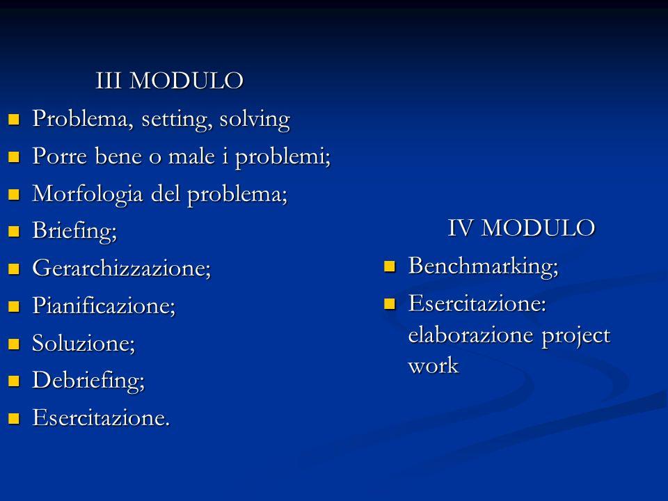 Percorso I MODULO Obiettivo, compito e strategia; Obiettivo, compito e strategia; Obiettivi didattici, obiettivi di conoscenza, obiettivi di capacità;