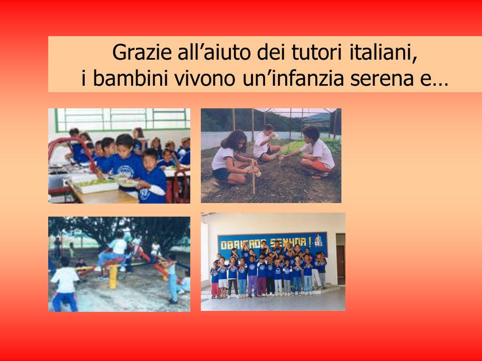 Grazie allaiuto dei tutori italiani, i bambini vivono uninfanzia serena e…