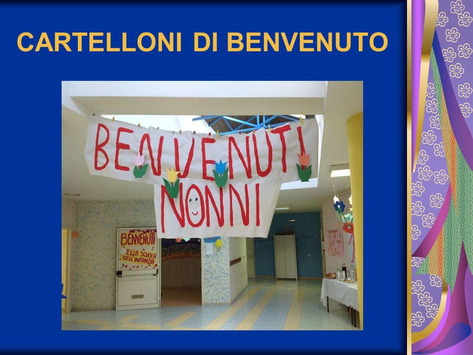 CARTELLONI DI BENVENUTO