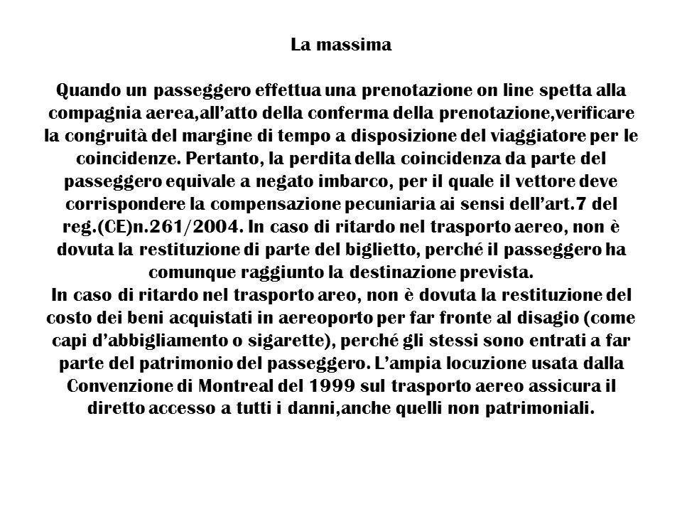 DIRITTO DEI TRASPORTI 2010 Sig.