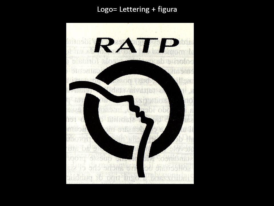 Logo= Lettering + figura