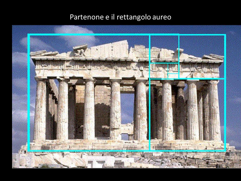 Partenone e il rettangolo aureo