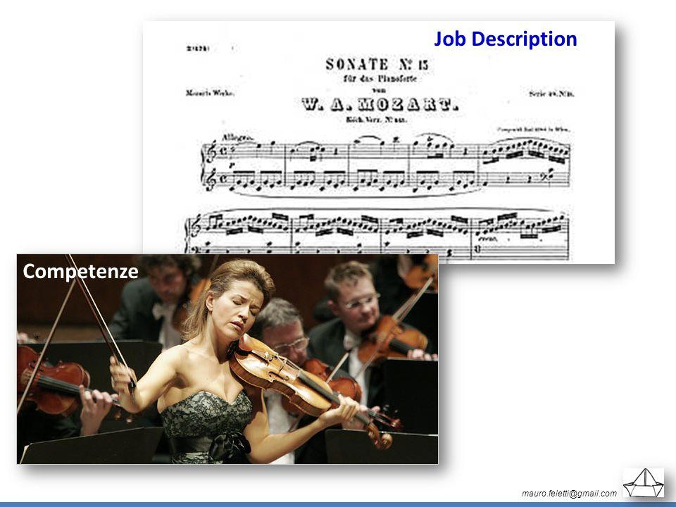 mauro.feletti@gmail.com Job Description Competenze