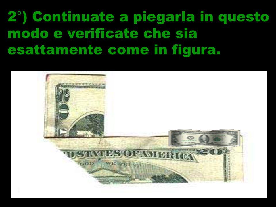 IN AMERICA SUCCEDONO COSE INCREDIBILI… 1°) Piegate una banconota da 20 a metà…