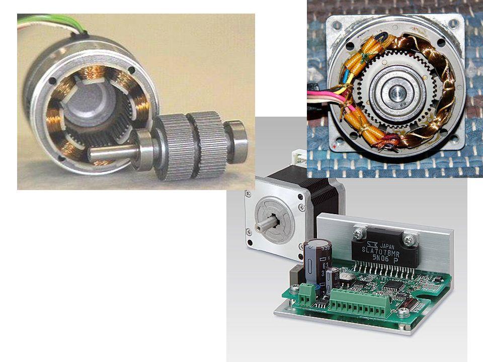 Il motore a riluttanza variabile Il motore a riluttanza variabile consente di risolvere, almeno in parte alle limitazioni di velocità del motore passo- passo a magnete permanente.