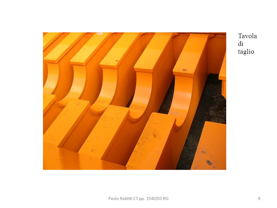 9 Tavola di taglio Paolo Rabitti CT pp. 1540/03 RG9