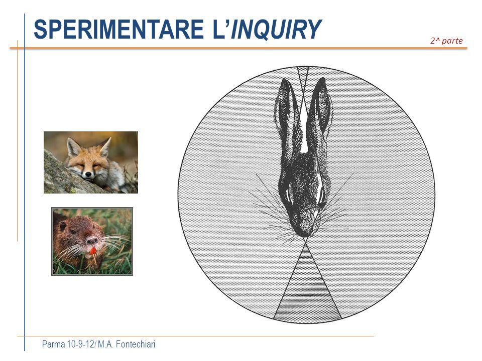 SPERIMENTARE L INQUIRY Parma 10-9-12/ M.A. Fontechiari 2^ parte