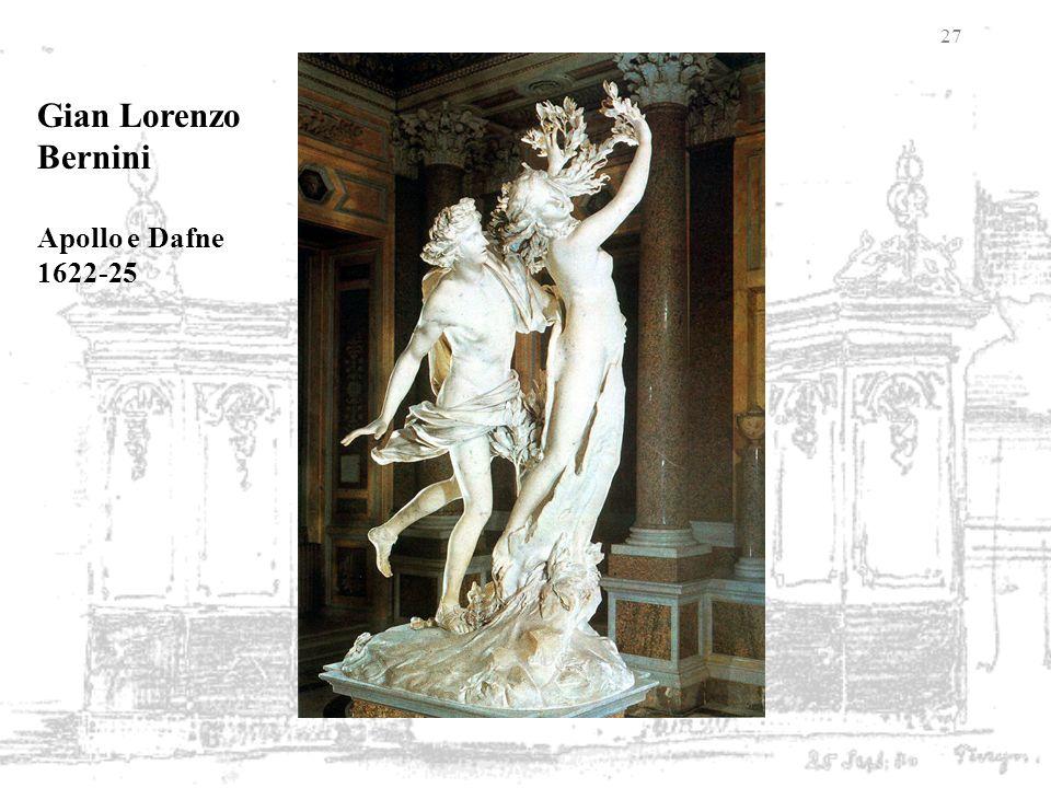 27 Gian Lorenzo Bernini Apollo e Dafne 1622-25