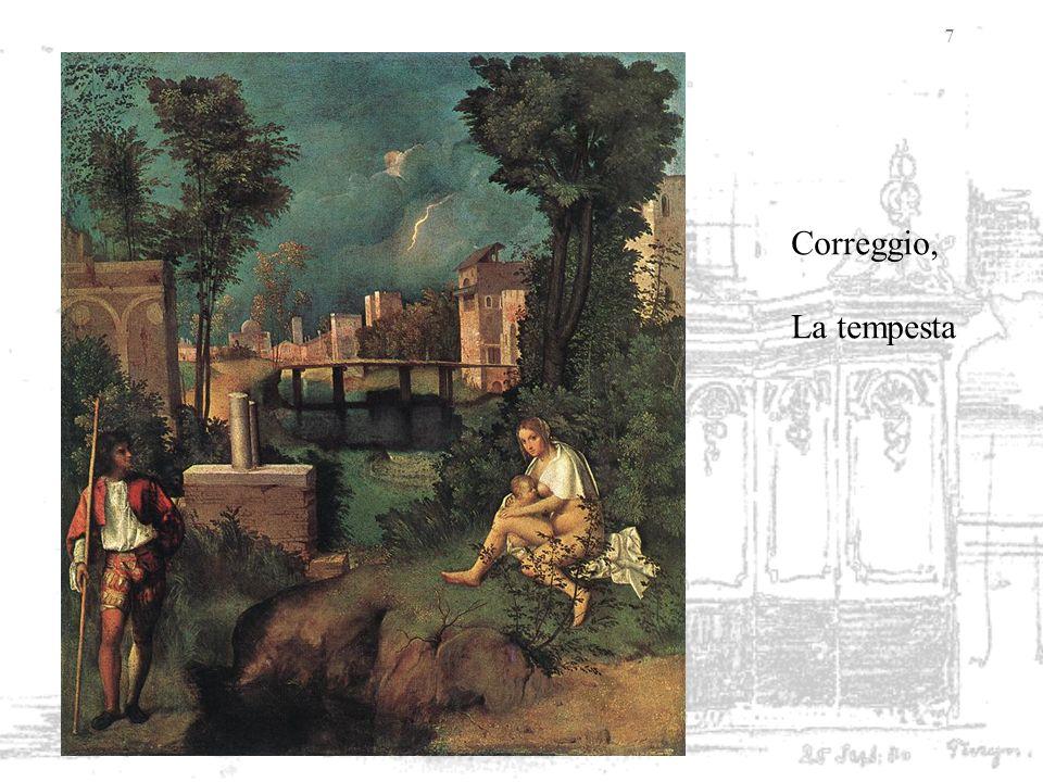 7 Correggio, La tempesta