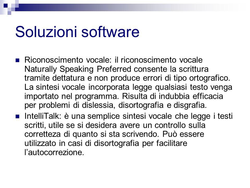 Soluzioni software Riconoscimento vocale: il riconoscimento vocale Naturally Speaking Preferred consente la scrittura tramite dettatura e non produce