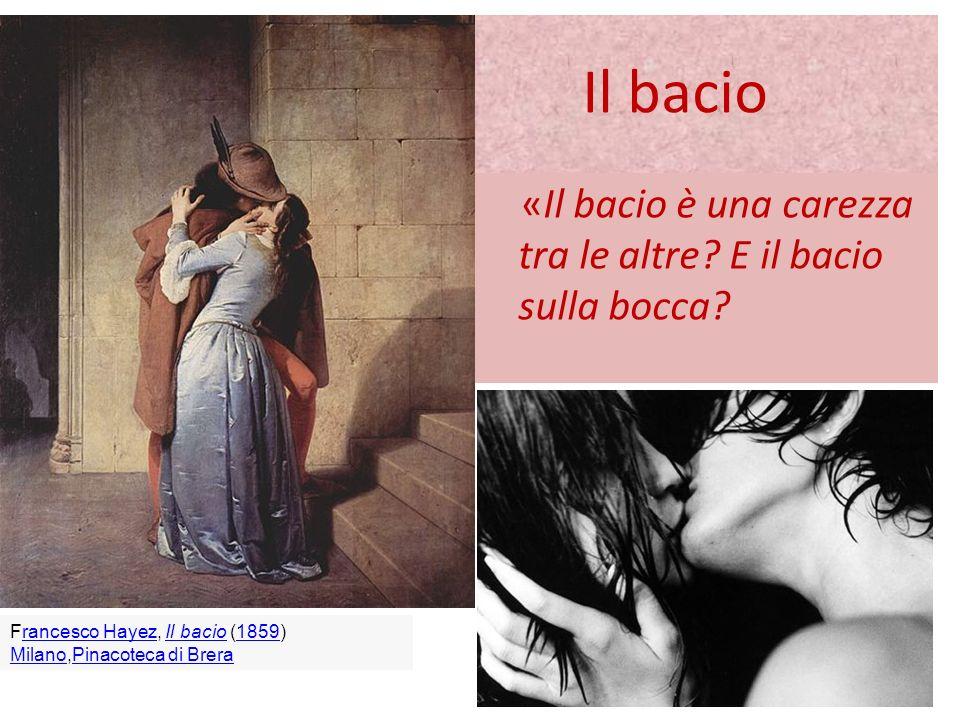 Il bacio E il bacio che morde, come tutto quello che ci si può scambiare tra le labbra, le lingue e i denti.