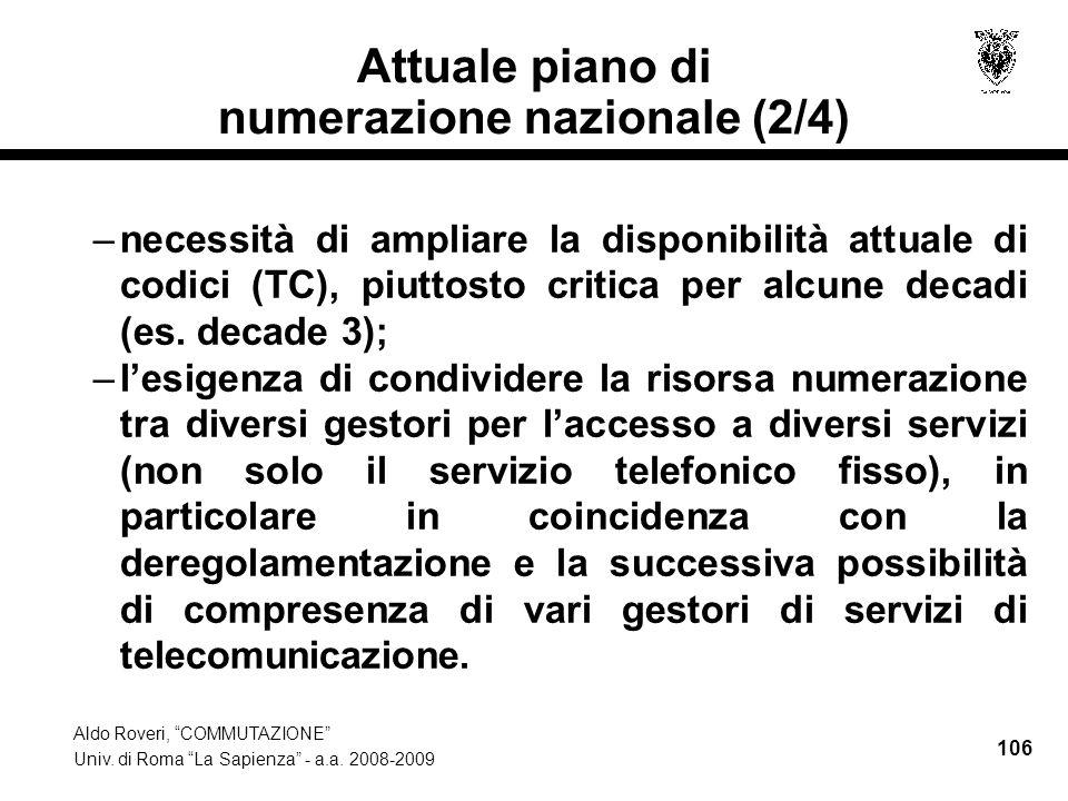 Aldo Roveri, COMMUTAZIONE Univ.di Roma La Sapienza - a.a.