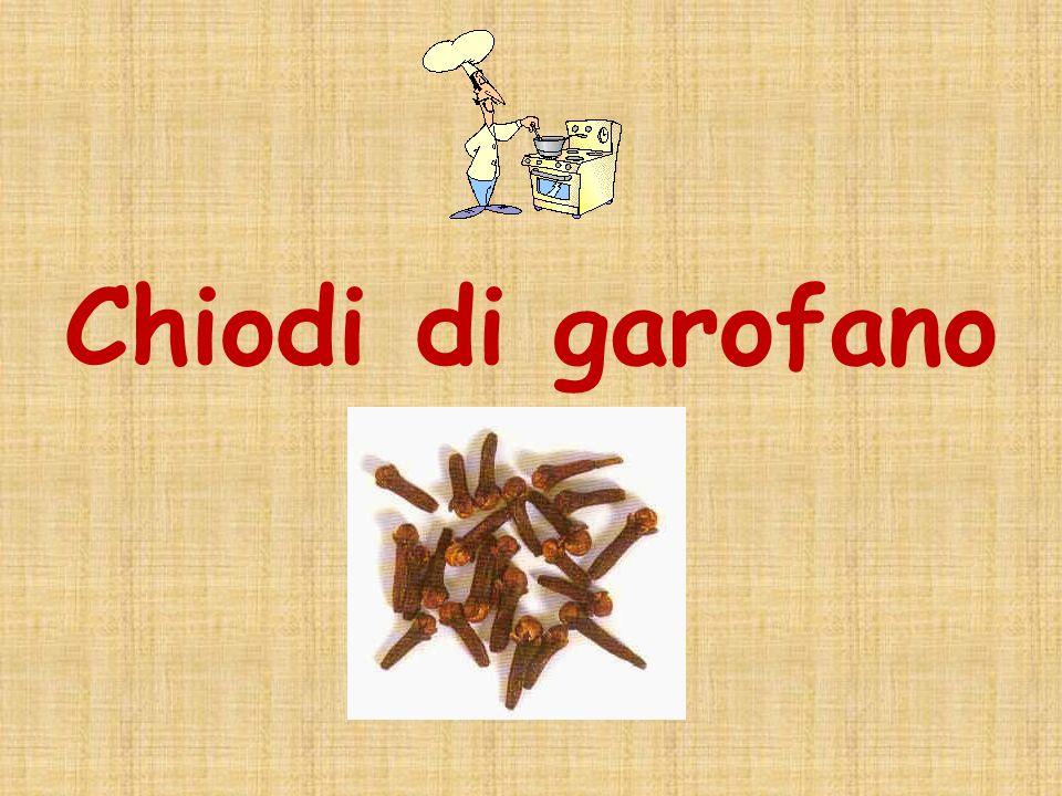 Chiodi di garofano