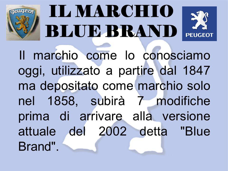 Il marchio come lo conosciamo oggi, utilizzato a partire dal 1847 ma depositato come marchio solo nel 1858, subirà 7 modifiche prima di arrivare alla versione attuale del 2002 detta Blue Brand .