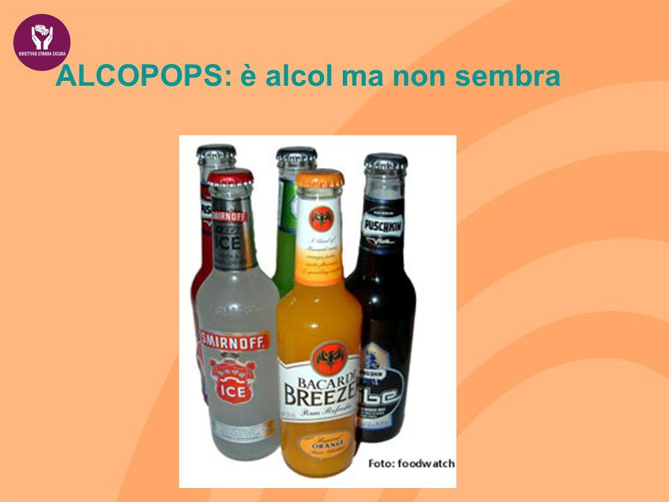 ALCOPOPS: è alcol ma non sembra