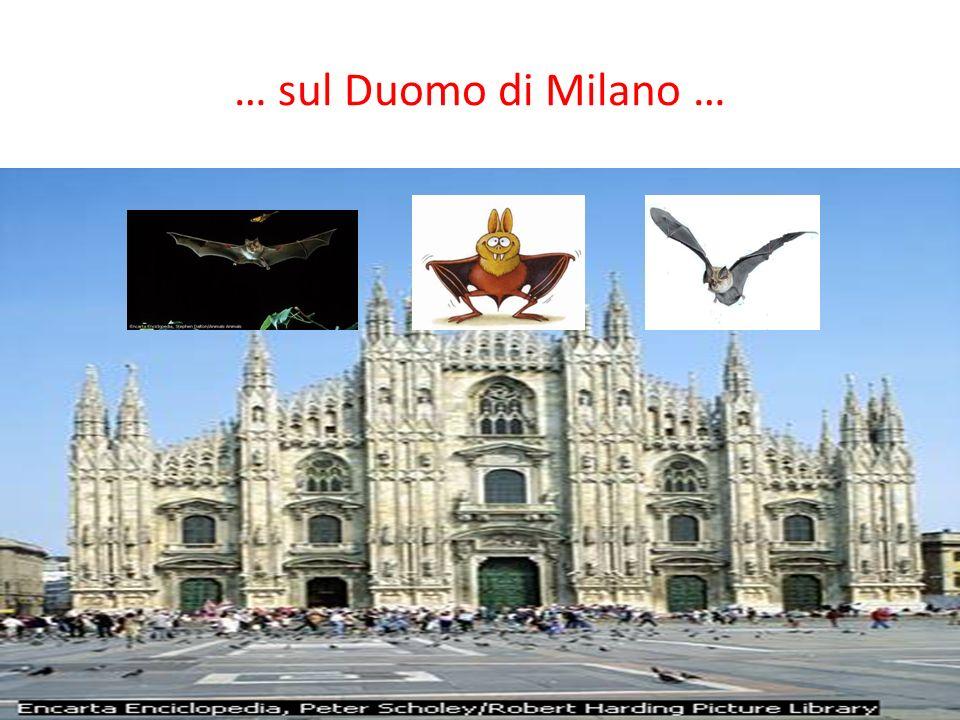 … sul Duomo di Milano …