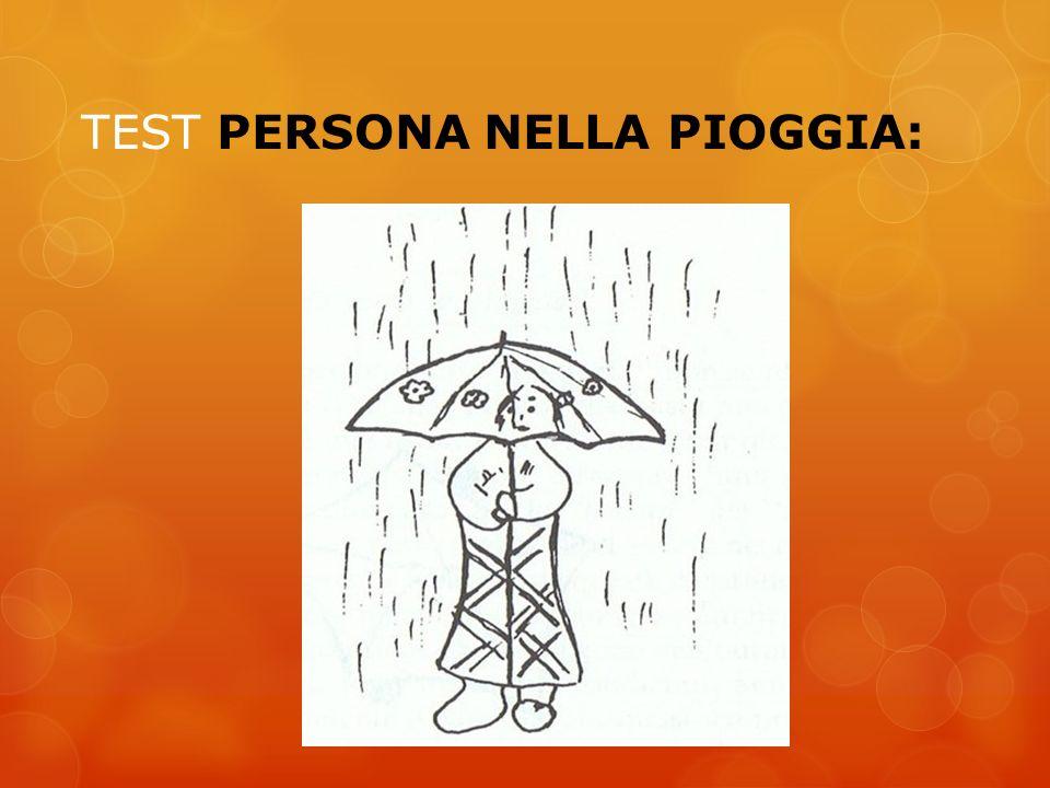 TEST PERSONA NELLA PIOGGIA: