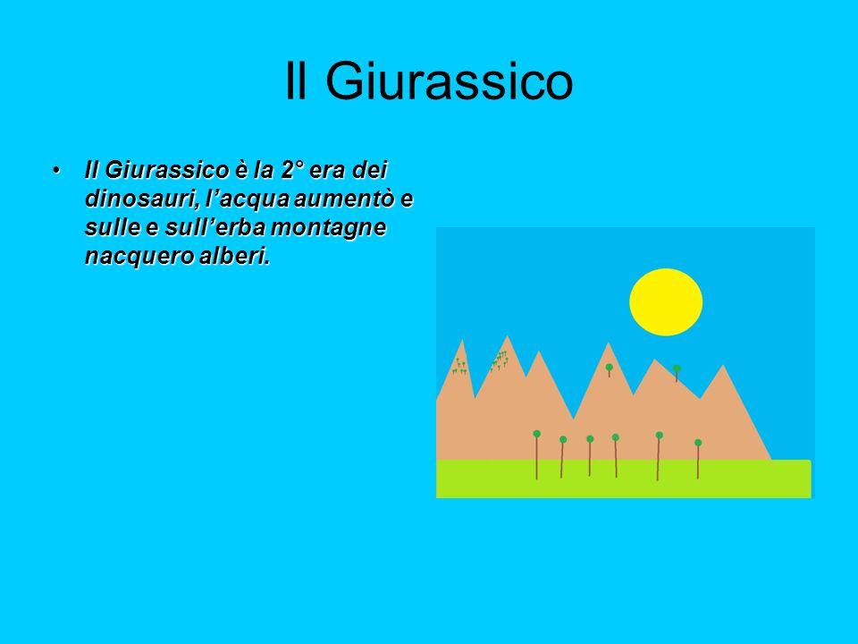 IL CRETACEO Il Cretaceo la 3° e ultima era dei dinosauri.Il Cretaceo la 3° e ultima era dei dinosauri.