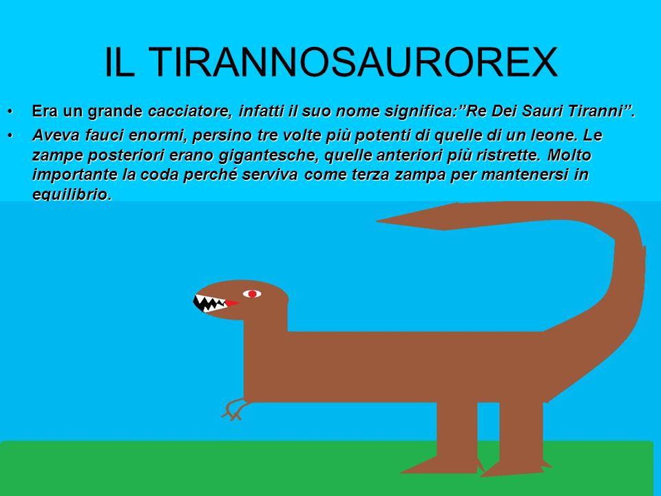 ALLOSAURO Era un enorme dinosauro lungo 14m.