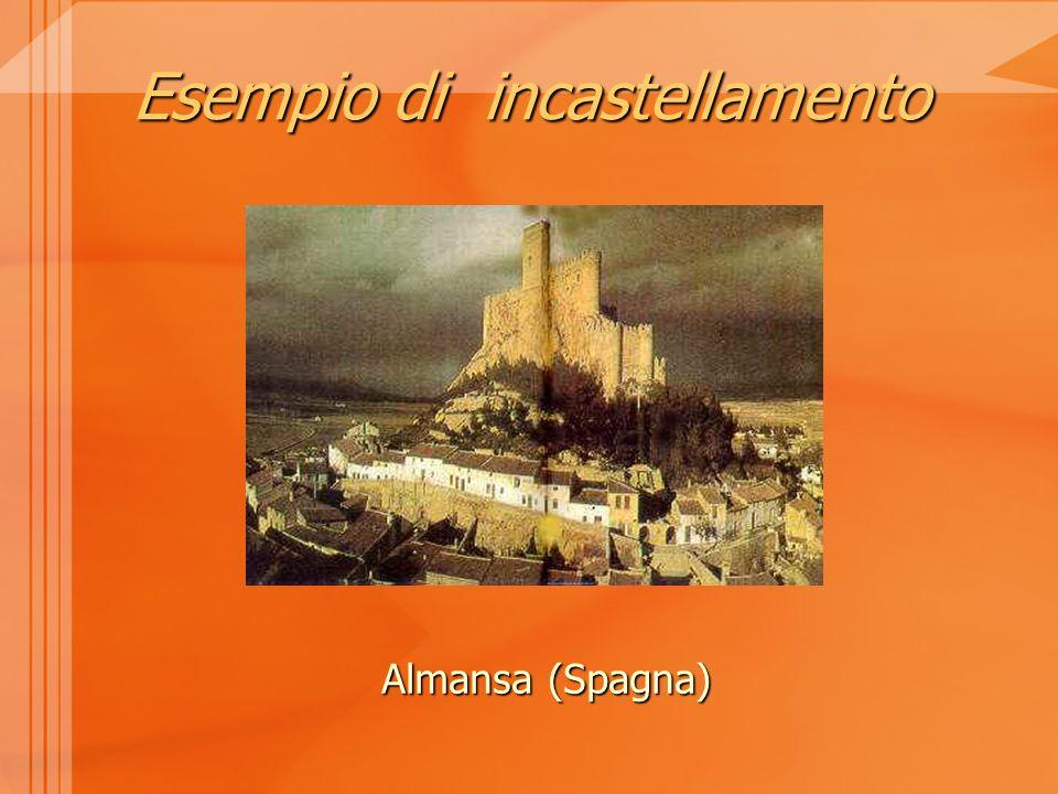 Esempio di incastellamento Almansa (Spagna)
