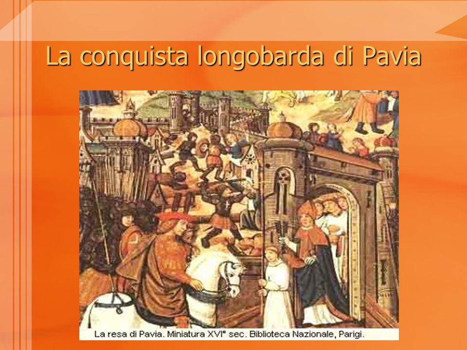 La conquista longobarda di Pavia