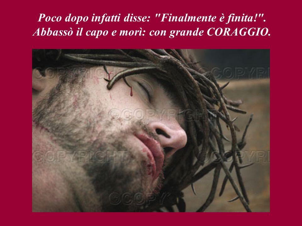 Gesù abbassò gli occhi e vide, sotto la croce, sua madre Maria, Maria di Cleofa, Maria Maddalena ed il suo discepolo Giovanni.