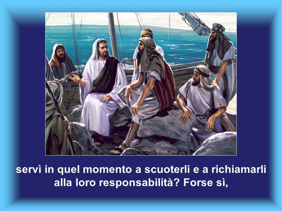 La memoria di quello che i discepoli avevano visto, distribuendo alle folle il pane che Gesù aveva moltiplicato,