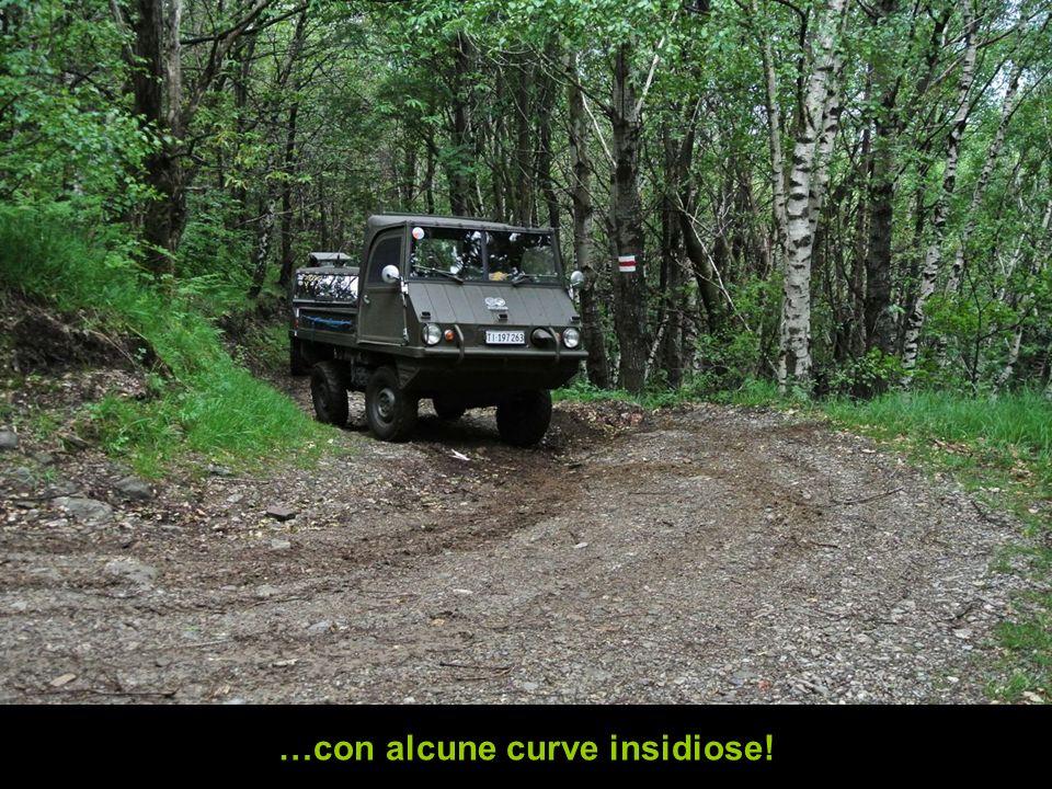…con alcune curve insidiose!