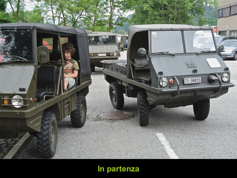 In partenza