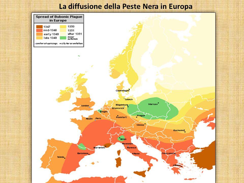 Landamento demografico in Europa dal 1000 al 1500