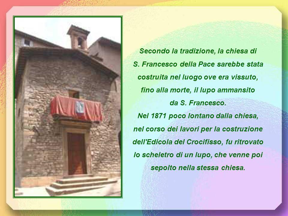 Secondo la tradizione, la chiesa di S.