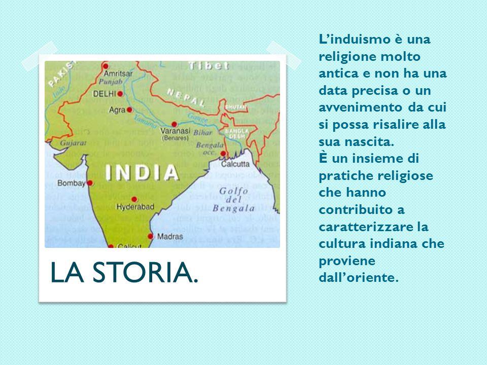 INDUISMO INDICE: -LA STORIA / ORIGINI -I FONDATORI -IL SIMBOLO -LE DIVINITA MASCHILI -LE DIVINITA FEMMINILI -LE CREDENZE -LA DIVISIONE IN CASTE -LA CUCINA -LA MUSICA -LA LETTERATURA -IL CULTO -LE FESTIVITA RELIGIOSE -LE PREGHIERE -I PROVERBI INDIANI -PERSONE SACRE -LIDEA DELLA VITA,MORTE E ALDILA -LO YOGA -LE FONTI