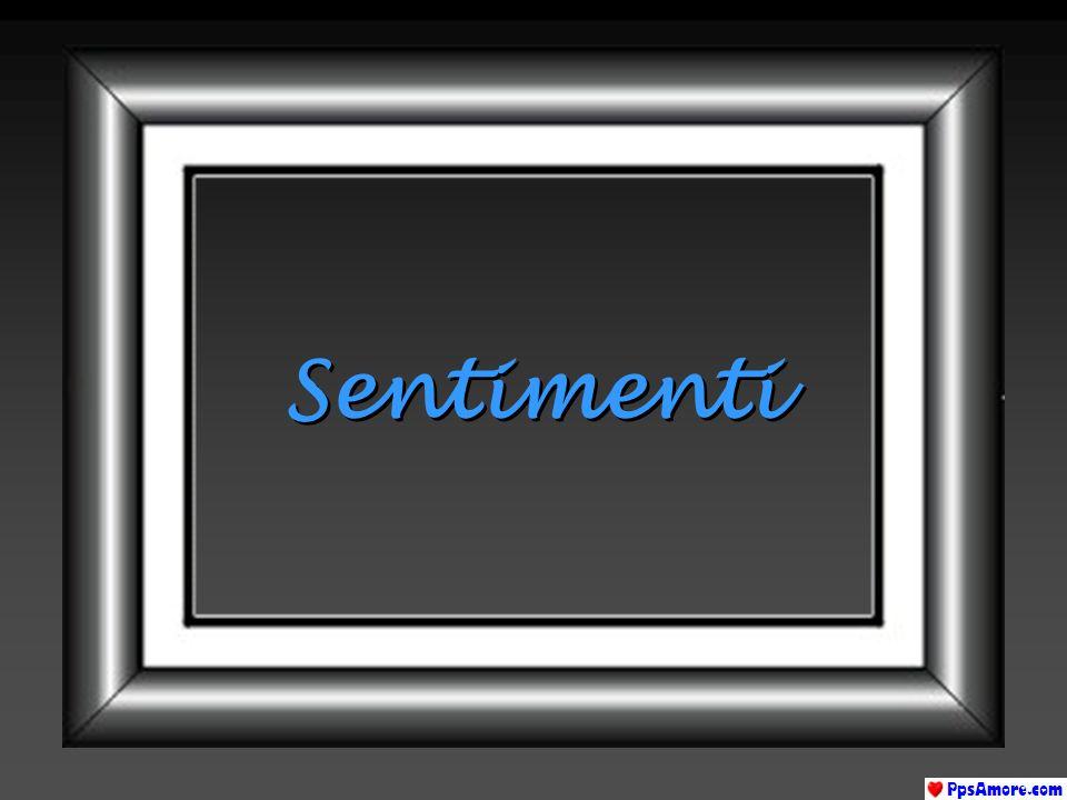 INTERESSE E un segno di esclamazione o di interrogazione allinizio di un nuovo sentimento.