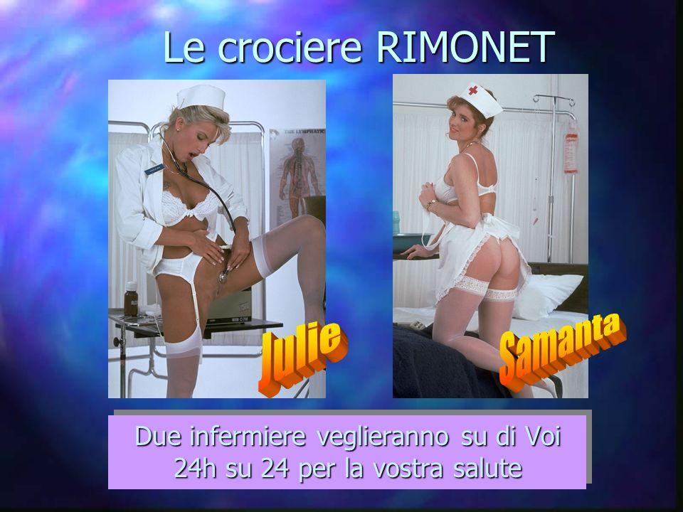 Le crociere RIMONET Due infermiere veglieranno su di Voi 24h su 24 per la vostra salute