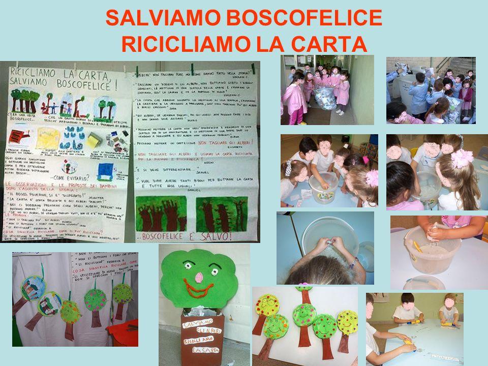 SALVIAMO BOSCOFELICE RICICLIAMO LA CARTA
