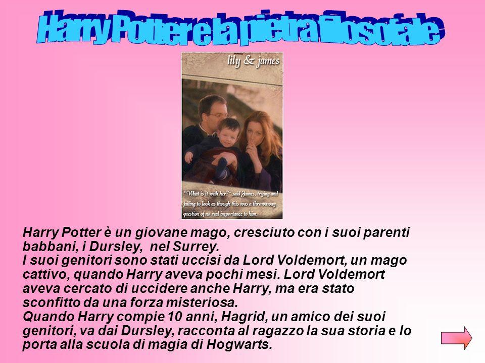 Elenco dei libriElenco dei libri: Harry Potter e la pietra filosofale Harry Potter e la camera dei segreti Harry Potter e il prigioniero di Azkaban Ha