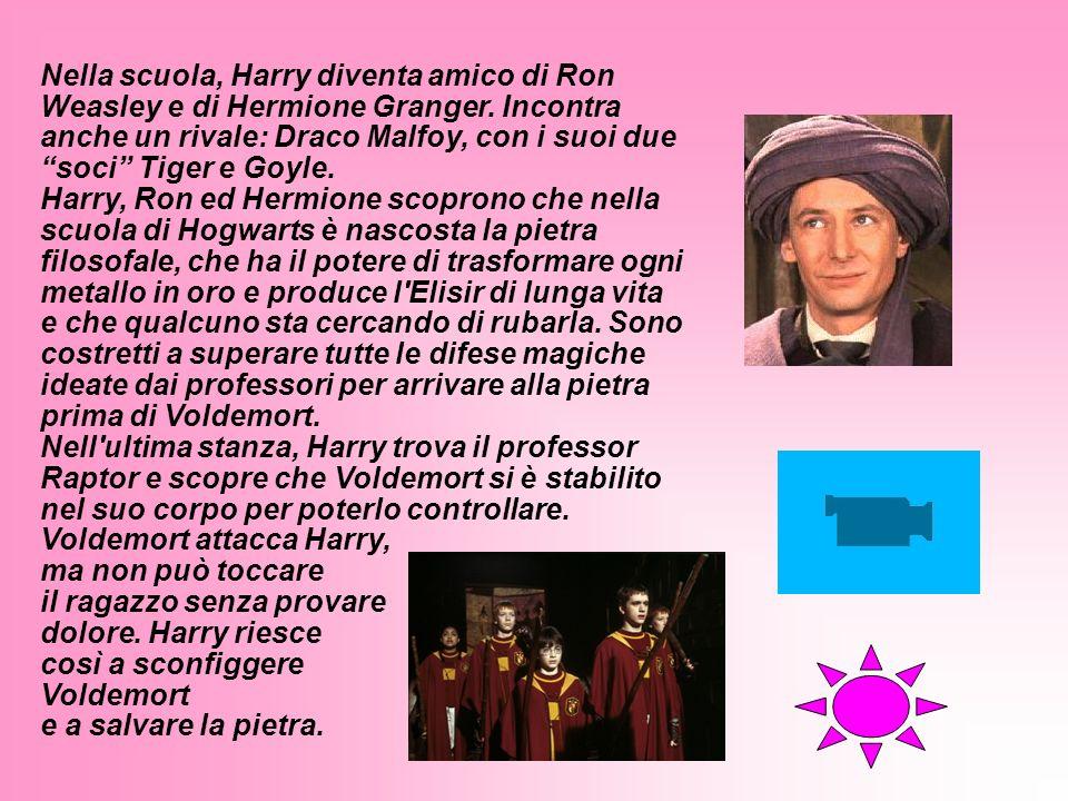 Harry Potter è un giovane mago, cresciuto con i suoi parenti babbani, i Dursley, nel Surrey. I suoi genitori sono stati uccisi da Lord Voldemort, un m