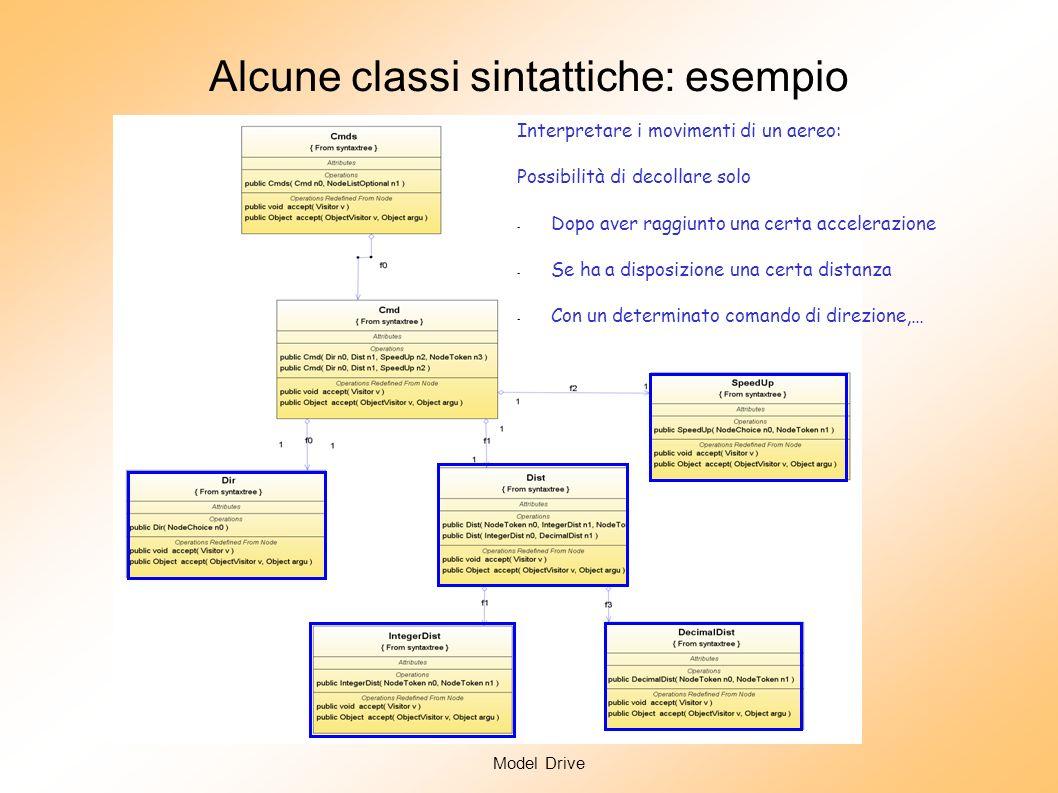 Model Drive Analisi Semantica: il calcolo del significato In generale Che significato si attribuisce ad una frase sintatticamente corretta di un linguaggio.