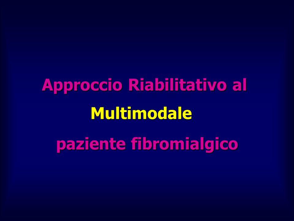 Approccio Riabilitativo al paziente fibromialgico Multimodale