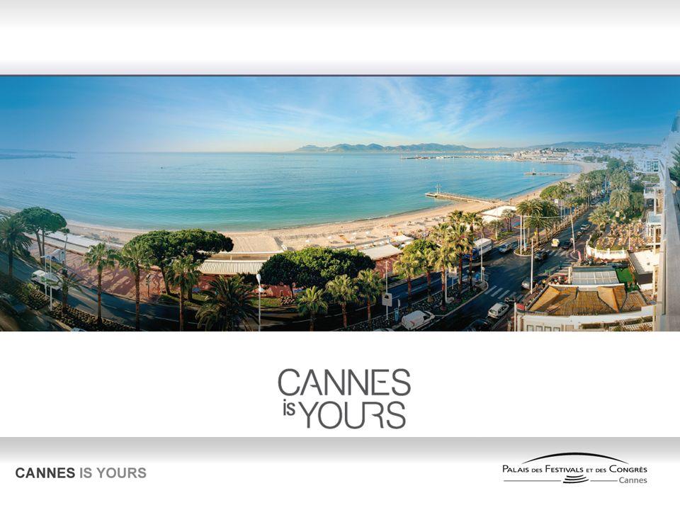 Cannes, unica al mondo Cannes è lunica destinazione al mondo che si identifica come : Una marca riconosciuta a livello internazionale.