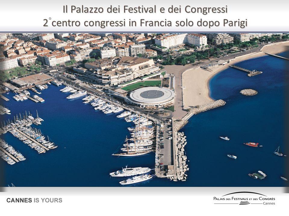 Il Palazzo dei Festival e dei Congressi 2 ° centro congressi in Francia solo dopo Parigi