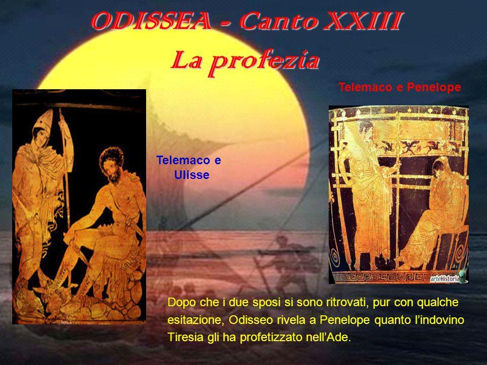 ODISSEA - Canto XXIII La bellezza Tra le virtù femminili la prima ad essere lodata da Omero è la bellezza.